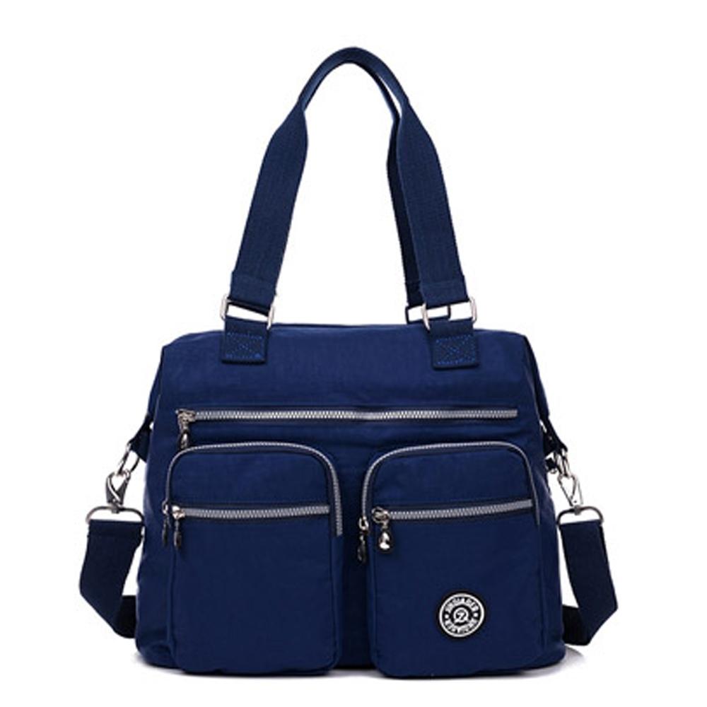 YS0615BU簡約時尚百搭托特包.側背包.單肩包.斜垮包藍色