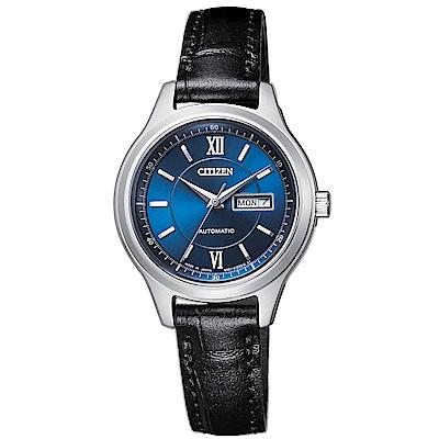 CITIZEN 星辰 簡約風格機械腕錶(PD7150-03L)