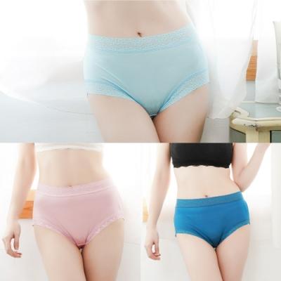 闕蘭絹40針高密度蠶絲褲(三件)(隨機選色選款)