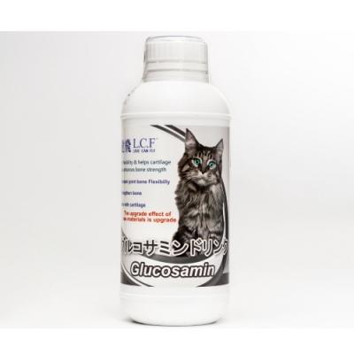 L.C.F樂健飛-寵物關節骨骼葡萄糖胺液(毛小孩專用-貓用) 500ml