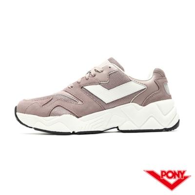 【PONY】MODERN 2系列 復古單色 慢跑鞋 電光鞋 女鞋-粉紫