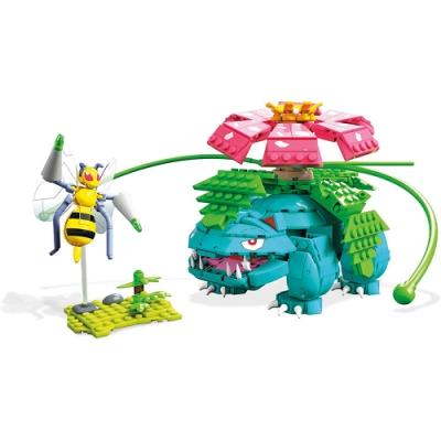 Mega美高創建 - 寵物小精靈 妙蛙花&大針蜂格鬥組合