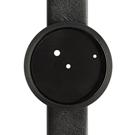 NAVA DESIGN Ora Lattea 圓點腕錶-黑/42mm