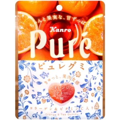 Kanro Pure柳橙紅茶風味軟糖(56g)