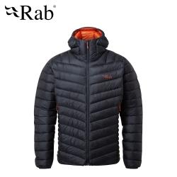 【英國 RAB】Prosar Jacket 輕量保暖羽絨連帽外套 男款 烏木灰 #QDN89