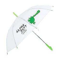 樂嫚妮 自動開傘/直立雨傘- 鱷魚