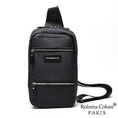 Roberta Colum - 尊爵格調率性隨身頭層牛皮單肩包