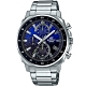 CASIO EDIFICE 三眼設計漸層混搭計時腕錶(EFV-600D-2A) product thumbnail 1