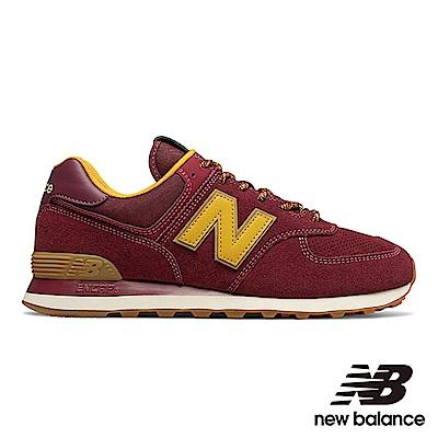 New Balance 復古鞋 ML574OTC 中性 磚紅