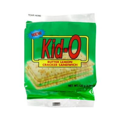 Kid-O日清 三明治餅乾-檸檬口味(120g)