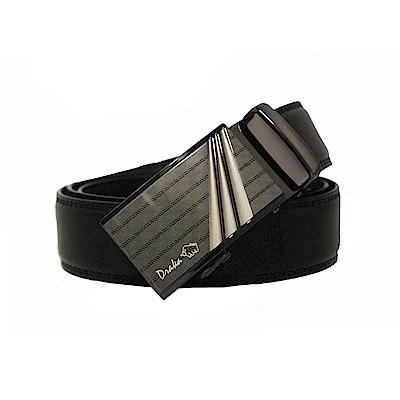 DRAKA 達卡 - 商務簡約真皮自動皮帶-41DK851-6304