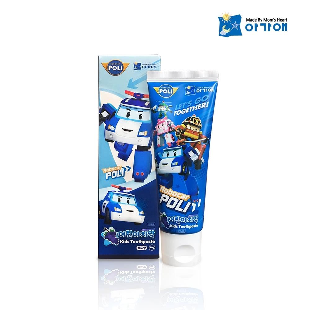 POLI波力-兒童牙膏葡萄口味-3歲以上(80g)
