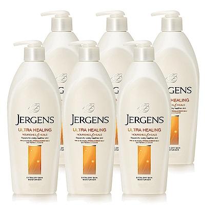 JERGENS 珍柔美體護膚保濕乳液650ml (長效配方) 6入組