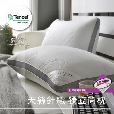 (買一送一)夢之語 MIT天絲獨立筒釋壓枕