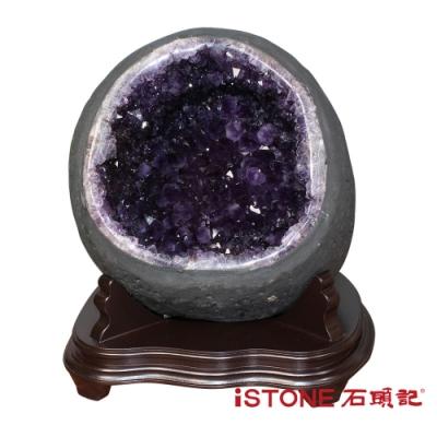 石頭記 天然紫水晶洞 O (16.72公斤聚寶盆)