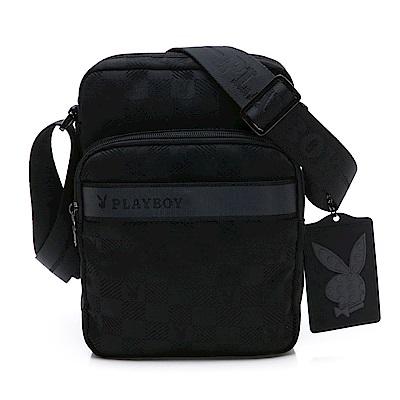 PLAYBOY- 直立式斜背包 Back to Street系列-黑色