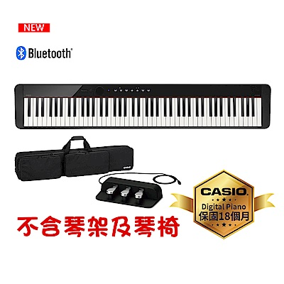 [無卡分期-12期] CASIO卡西歐原廠Privia數位鋼琴PX-S1000含琴袋.三踏板.耳機