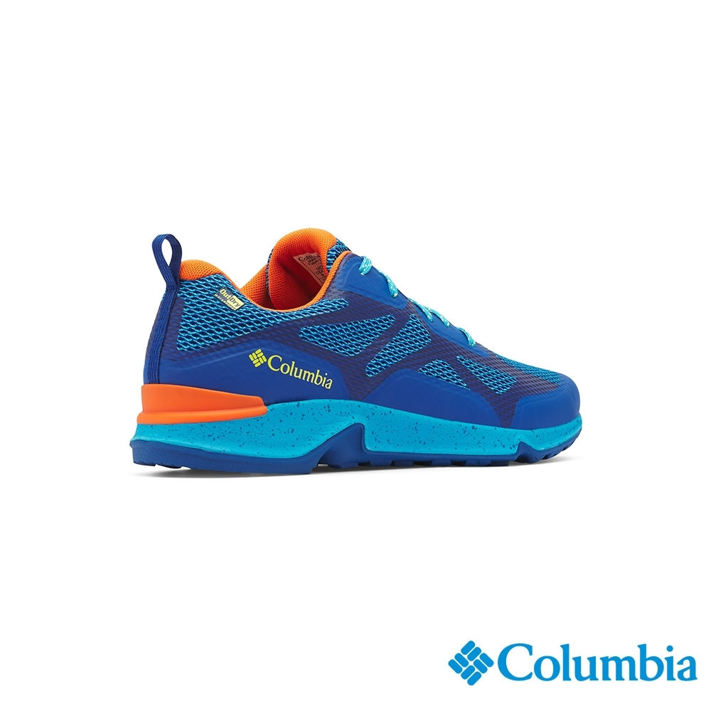 Columbia 哥倫比亞 男款- Outdry 防水健走鞋-藍色 UBM00770BL