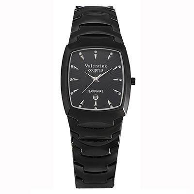 Valentino Coupeau 范倫鐵諾 古柏 精密陶瓷酒桶腕錶 黑陶 32mm