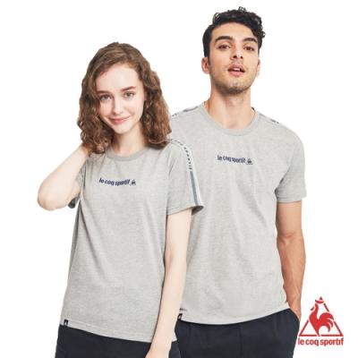 法國公雞牌短袖T恤 LON2310295-中性-麻灰