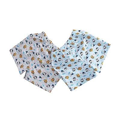 海底小縱隊純棉平口內褲(四件一組) k51122 魔法Baby