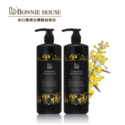 Bonnie House 幸福朝露精油沐浴膠1000ml 2入組
