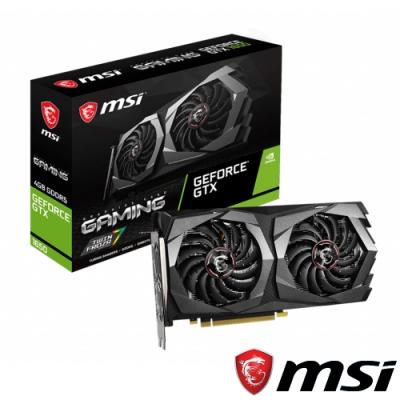 MSI微星 GeForce GTX 1650 GAMING 4G 顯示卡