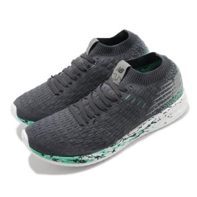 New Balance 慢跑鞋 Fresh Foam 運動 女鞋 紐巴倫 輕量 透氣 舒適 避震 路跑 灰 綠 WZANSLND