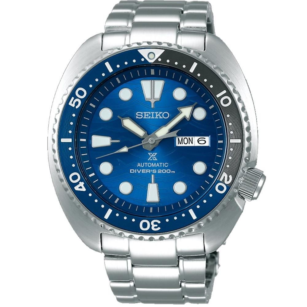 SEIKO 精工 PROSPEX 潛水特別版大白鯊200米機械錶(SRPD21J1)
