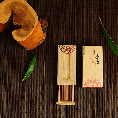 Fushankodo富山香堂 白檀帝汶57mm臥香飄意盒(快)