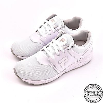 FILA女款輕量慢跑鞋 白 5 J316S 114