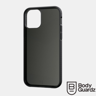 美國 BodyGuardz iPhone 12 / 12 Pro Split 超輕量防滑軍規殼 - 全透黑