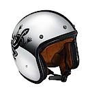 agnes b. 蜥蜴b logo銀色鏡面安全帽