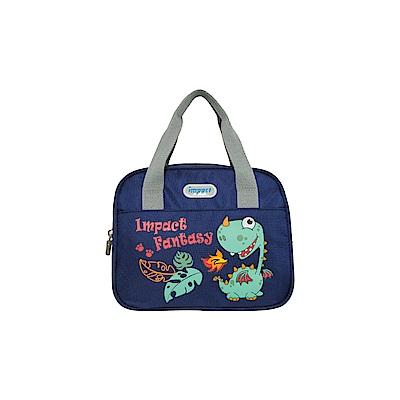 【IMPACT】午餐袋-奇幻恐龍-深藍 IM00N03NY