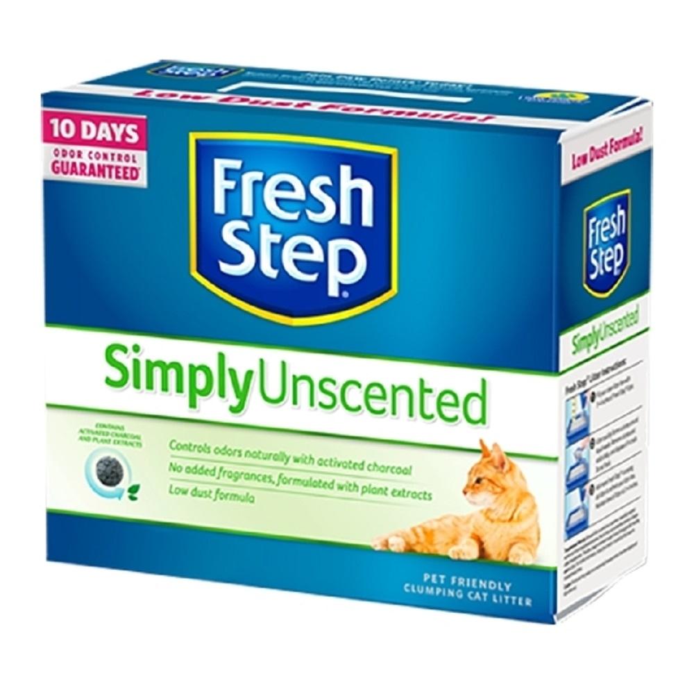 【2入組】Fresh Step菲麗思-多貓無香味貓砂 25LB(11.3kg)