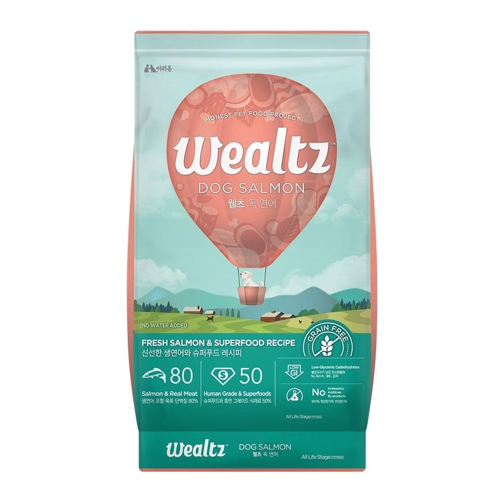 Wealtz維爾滋天然無穀寵物糧-全齡犬鮭魚食譜 1.2kg (300g*4EA)【兩包組】