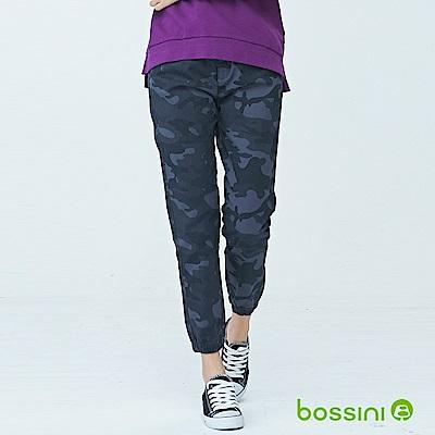 bossini女裝-輕鬆長褲03鐵灰