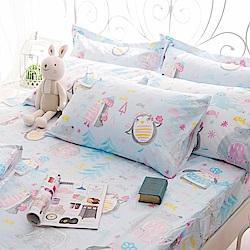 OLIVIA  冬季樂園 加大雙人床包枕套三件組 200織精梳純棉