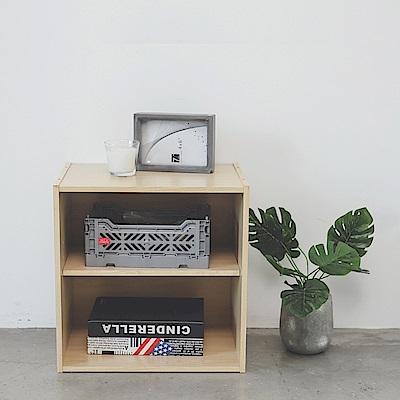 Home Feeling 空櫃/收納櫃/組合櫃/二層(3色)-39.6X30X40