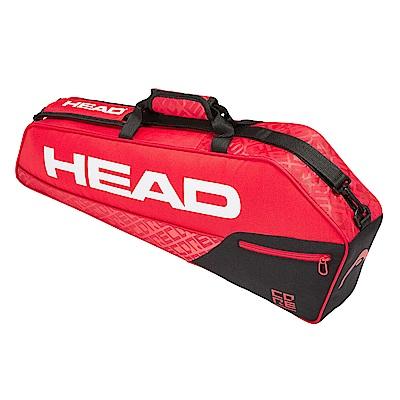 HEAD Core Pro 實用型 3支裝球拍袋-紅黑 283529