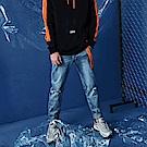 CACO-修身破洞牛仔褲-男-【QST024】