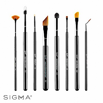 Sigma 細部修飾刷具八件組 Detail Brush Set