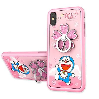 iStyle iPhone X 多啦A夢 花語手機殼