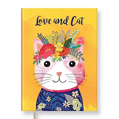 7321 Design Mia Charro 精裝本-空白筆記本-Love&Cat