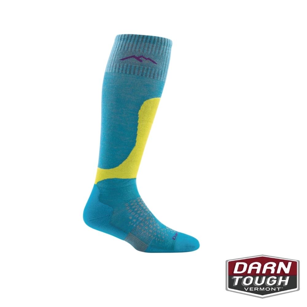 【美國DARN TOUGH】女羊毛襪FALL LINE滑雪襪(隨機)