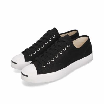 CONVERSE 開口笑 男女款 低筒帆布鞋-黑164056C