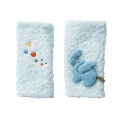 【妖精之森】純棉揹袋口水巾口水墊-小象