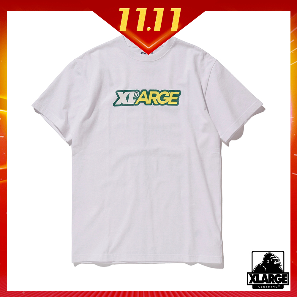 XLARGE S/S TEE FRESH 短袖T恤-白
