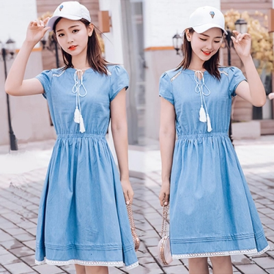 【韓國K.W.】爆推款可愛小女人素雅洋裝