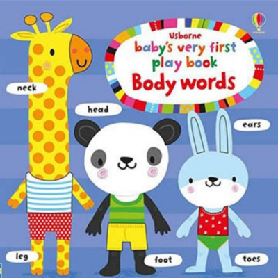 Baby s Very First Play Book Body Words 硬頁書